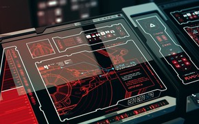 Picture graphics, panel, remote, The Force Awakens LEAKED Concepts, New Order Command Bri