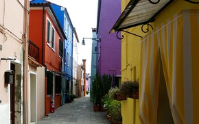 Picture Home, Street, Italy, Venice, Italy, Venice, Italia, Venice, Burano, Burano