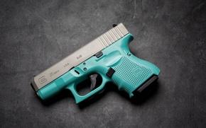 Picture gun, self-loading, glock 26