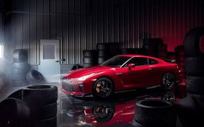 Picture garage, GTR, supercar, Nissan, GT-R, Track Edition, 2017