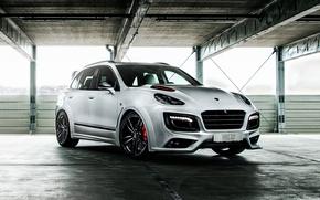 Picture white, Porsche, Porsche, Cayenne, Cayenne, TechArt