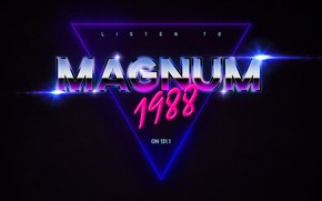Picture Neon, Background, Magnum, 1988, Synthpop, Darkwave, Synth, Retrowave, Synth-pop, Synthwave, Synth pop, Magnum 1988
