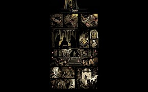 Picture hero, comic, darkest dungeon, leper