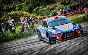 Picture Auto, Sport, Machine, People, Race, Hyundai, Car, WRC, Rally, Rally, The audience, i20, Hyundai i20, …