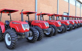 Wallpaper national technology, gaucho factory, Brazilian factory, Agrale, Agrale brand tractor, agricultural machinery, Brazil, tractor, Riograndense ...