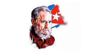 Wallpaper Fidel Castro, statesman, Cuban revolutionary, commander, Fidel Castro
