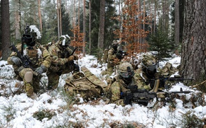 Wallpaper soldiers, army, weapons