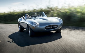 Picture road, machine, speed, Jaguar, Eagle, sportcar, road, Spyder, speed, british, Road, E-TYPE