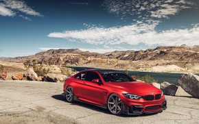 Picture auto, landscape, red, design, BMW M4