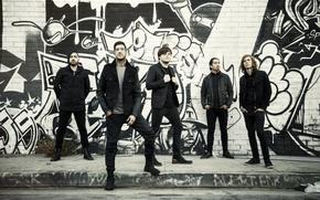 Picture rock band, metalcore, post-hardcore, Of Mice & Men