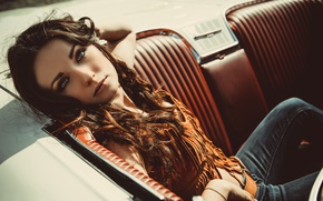 Picture auto, look, face, style, model, Deborah Dragster