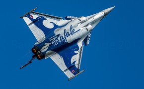 Picture multi-role fighter, French, Rafale