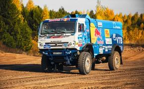 Picture Nature, Sport, Speed, Truck, Master, Beauty, Russia, Kamaz, Rally, KAMAZ, The roads, RedBull, Master, 303, …