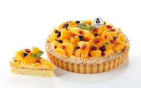 Picture berries, pie, fruit, dessert