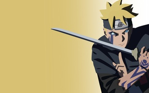 Wallpaper sword, Naruto, seal, anime, katana, fight, ken, blade, ninja, asian, manga, shinobi, japanese, oriental, asiatic, ...