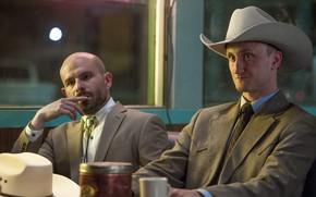 Picture hat, angel, cowboy, bald, tenshi, tv series, Preacher