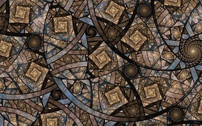Picture abstraction, background, pattern