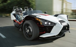 Picture beautiful, comfort, hi-tech, Polaris, Slingshot, technology, sporty, tricycle, 008