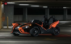 Picture beautiful, comfort, hi-tech, Polaris, Slingshot, technology, sporty, tricycle, 047