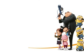 Picture animated film, Despicable Me, bald, Gru, minion, minions, animated movie, Despicable Me 3, Despicable-Me 3