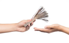 Picture money, hands, sale, purchase, economy, loans