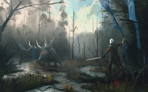 Picture CD Projekt RED, The Witcher 3: Wild Hunt, The Witcher 3: Wild Hunt, CRIS, Cirilla ...
