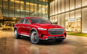 Wallpaper Maybach, Ultimate Luxury, Mercedes-Maybach, Vision, electrocreaser, 2018, Mercedes-Benz