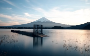 Picture the volcano, Japan, Fuji