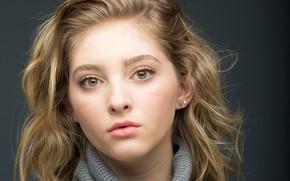 Picture portrait, actress, Willow Shields