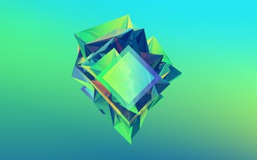 Picture purple, crystal, blue, yellow, green, blue, green, dark, colorful, blue, rhombus, purple, emerald, emerald