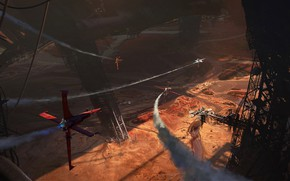 Picture flight, aircraft, The Valley of Death