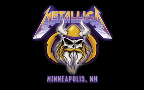 Picture background, skull, group, metallers, Metallica, Minneapolis, trash, James Hetfield, Robert Trujillo, James Hetfield, metal band, …