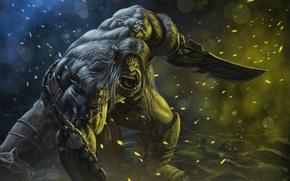 Picture Orc, Kargath Bladefist, Art Edit, Kargath Bladefist