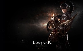 Picture look, armor, warrior, Lost Ark
