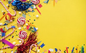 Picture holiday, sweets, decor, birthday