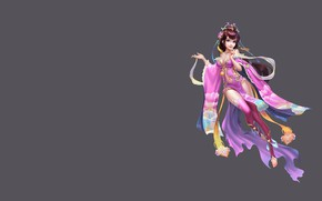 Wallpaper China, the game, art, costume design