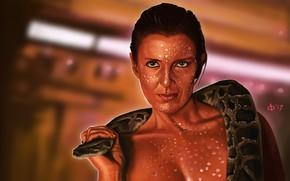 Picture art, Blade Runner, Blade runner, Zora, Joanna Cassidy