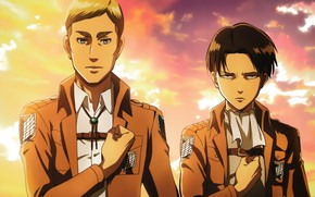Picture Anime, Attack of the titans, Characters, Levi