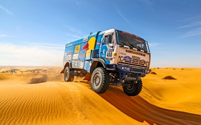Wallpaper Rally, Dakar, Dakar, Sport, Kamaz, Master, Day, 400, KAMAZ, Dune, Rally, Sand