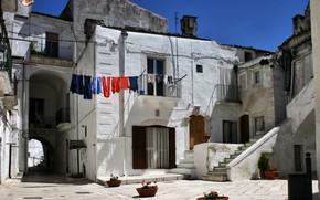 Picture House, Balcony, Italy, Italy, Italia, Yard, Monte Sant'angelo, Commune, Monte Sant'angelo