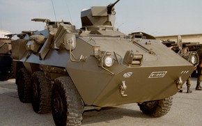 Picture weapon, armored, 127, military vehicle, armored vehicle, armed forces, military power, war materiel