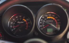 Picture Auto, Machine, Panel, Speedometer, Nissan, Nissan, Car, 2000, Skyline, Nissan Skyline, 2000GT, Japanese, Torpedo, 2000GT-R, …