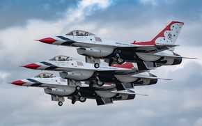 Picture fighters, Airshow, F-16, Fighting Falcon, General Dynamics