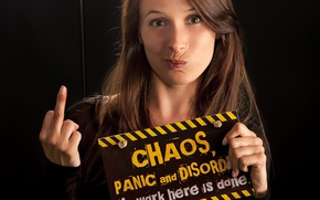 Picture panic, chaos, disorder