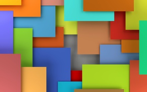 Wallpaper design, 3D rendering, background, geometry, colorful, abstract, geometric shapes