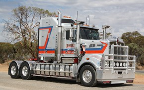 Picture Bailey, Kenworth, T909