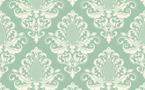 Picture flowers, vector, texture, vintage, wallpapers, pattern