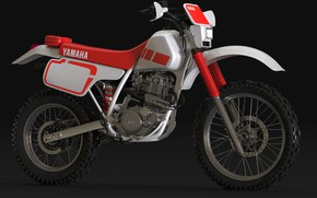 Picture style, motorcycle, Yamaha