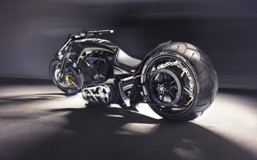 Picture Muscle, Hamann, Chopper, Bike, Custom, Motorbike, Soltador Cruiser