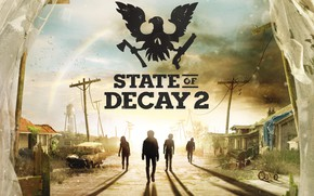 Picture city, logo, game, undead, State of Decay, State of Decay 2, zobie